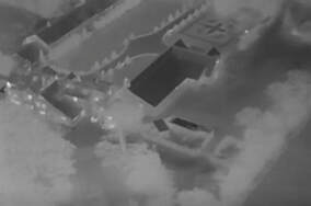 Thermal drone security